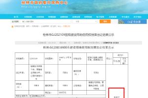 2.54亿元!桂林292亩涉宅地流拍,开发商不玩了?
